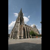 Ulm, Münster (Hauptorgel), Gesamtansicht von außen