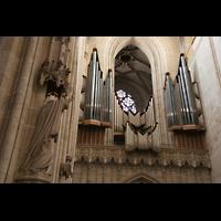 Ulm, Münster (Hauptorgel), Prospekt der großen Orgel