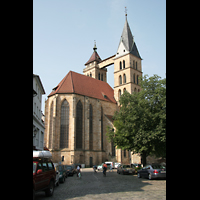 Esslingen, Stadtkirche St. Dionys, Chorraum und Türme
