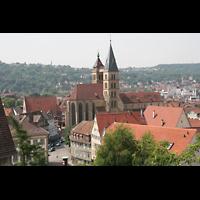Esslingen, Stadtkirche St. Dionys, Die Stadtkirche aus der Vogelperspektive