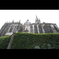 Aachen, Dom St. Marien (Hauptorgelanlage), Seitenansicht