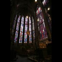 Aachen, Dom St. Marien (Hauptorgelanlage), Chorhalle mit Karlsschrein