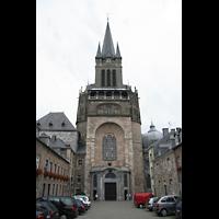 Aachen, Dom St. Marien (Hauptorgelanlage), Turm und Hauptportal