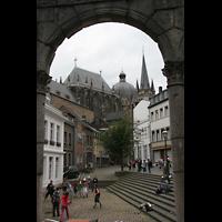 Aachen, Dom St. Marien (Hauptorgelanlage), Gesamtansicht
