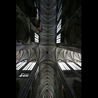 Köln, Dom St.Peter und Maria (Truhenorgel), Vierung mit Langhausorgel