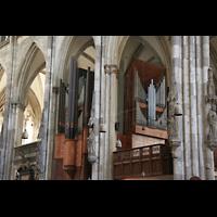 Köln, Dom St.Peter und Maria (Truhenorgel), Querhausorgel