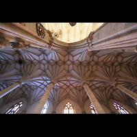 Ulm, Münster (Hauptorgel), Gewölbe im Seitenschiff