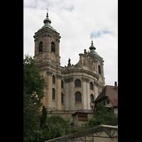 Weingarten, Basilika St. Martin - Große Orgel, Außenansicht