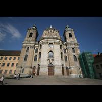 Weingarten, Basilika St. Martin - Große Orgel, Fassade