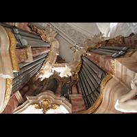 Weingarten, Basilika St. Martin - Große Orgel, Hauptwerk