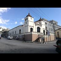 Santiago de Cuba, Auditorio Nuestra Señora de los Dolores, Außenansicht seitlich