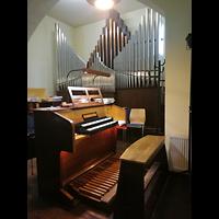 Hohen Neuendorf - Bergfelde, Ev. Kirche, Orgel mit Spieltisch
