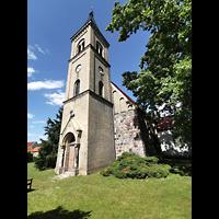 Mühlenbecker Land - Schönfließ, Ev. Kirche, Turm