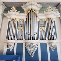 Mühlenbecker Land - Schönfließ, Ev. Kirche, Orgel