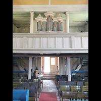 Mühlenbecker Land - Schönfließ, Ev. Kirche, Orgelempore