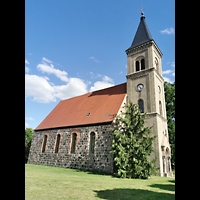 Mühlenbecker Land - Schönfließ, Ev. Kirche, Ansicht von Norden
