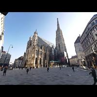 Wien (Vienna), Stephansdom (Orgelanlage), Stephansdom mit Stephansplatz