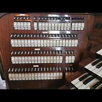 Wien (Vienna), Stephansdom (Orgelanlage), Kauffmann-Orgel, linke Registerstaffel