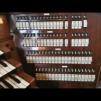 Wien (Vienna), Stephansdom (Orgelanlage), Kauffmann-Orgel, rechte Registerstaffel