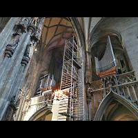 Wien (Vienna), Stephansdom (Orgelanlage), Restaurierung der Kauffmann-Orgel