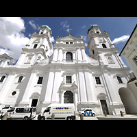 Passau, Dom St. Stephan, Renovierte Fassade 2021