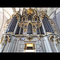 Berlin (Mitte), St. Marienkirche, Orgel mit Spieltisch