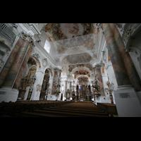 Ottobeuren, Abtei - Basilika (Heilig-Geist-Orgel), Innenraum