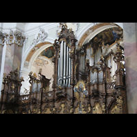 Ottobeuren, Abtei - Basilika (Heilig-Geist-Orgel), Dreifaltigkeitsorgel