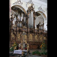 Ottobeuren, Abtei - Basilika (Heilig-Geist-Orgel), Heilig-Geist-Orgel
