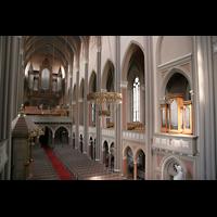 Wiesbaden, Marktkirche, Chororgel und Hauptorgel