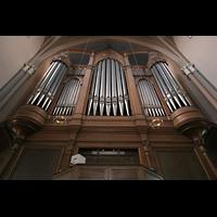Wiesbaden, Marktkirche, Spieltisch und Orgel
