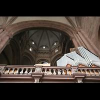 Mainz, Dom St. Martin und St. Stephan, Spieltischempore mit Leitwerk