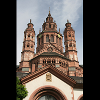 Mainz, Dom St. Martin und St. Stephan, Ansicht von Osten