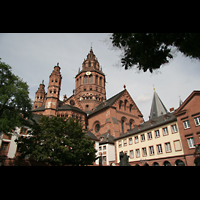 Mainz, Dom St. Martin und St. Stephan, Außenansicht
