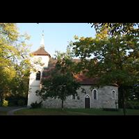 Berlin (Reinickendorf), Dorfkirche Alt Reinickendorf, Seitenansicht