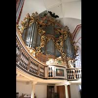 Brandenburg, St. Katharinen (Hauptorgelanlage), Orgelempore