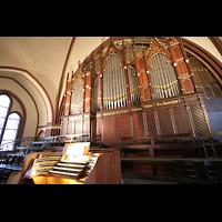 Berlin (Wilmersdorf), Auenkirche, Orgel mit Spieltisch