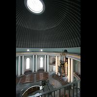 Berlin (Mitte), St. Hedwigs-Kathedrale, Kuppel und Orgel