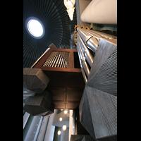 Berlin (Mitte), St. Hedwigs-Kathedrale, Orgel und Kuppel