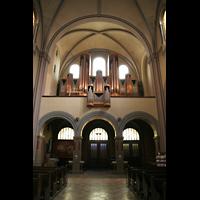 Berlin (Wedding), St. Joseph, Orgelempore