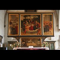 Wittenberg, Stadtkirche, Altar