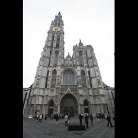 Antwerpen (Anvers), Onze-Lieve-Vrouwekathedraal (Transeptorgel), Frontansicht