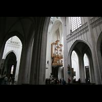 Antwerpen (Anvers), Onze-Lieve-Vrouwekathedraal (Transeptorgel), Blick zur Transeptorgel