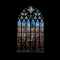 Antwerpen (Anvers), Onze-Lieve-Vrouwekathedraal (Transeptorgel), Fenster