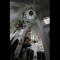 Antwerpen (Anvers), Onze-Lieve-Vrouwekathedraal (Transeptorgel), Transeptorgel mit Vierungskuppel