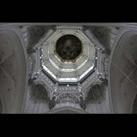 Antwerpen (Anvers), Onze-Lieve-Vrouwekathedraal (Transeptorgel), Vierungskuppel