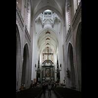 Antwerpen (Anvers), Onze-Lieve-Vrouwekathedraal (Transeptorgel), Chorraum