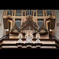 Brussel (Bruxelles - Brüssel), Kathedraal Sint Michiel en Sint Goedele (Hauptorgel), Spanische Trompeten der Hauptorgel