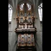 Brussel (Bruxelles - Brüssel), Kathedraal Sint Michiel en Sint Goedele (Hauptorgel), Prospekt der Hauptorgel