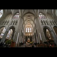 Brussel (Bruxelles - Brüssel), Kathedraal Sint Michiel en Sint Goedele (Hauptorgel), Querhaus und Vierung